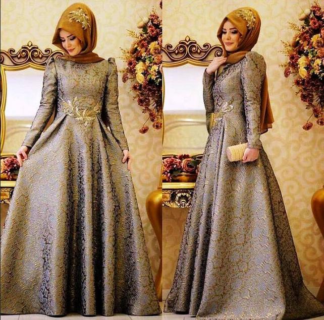 Trend Baju Pesta Muslimah Elegan Dan Mewah Berita